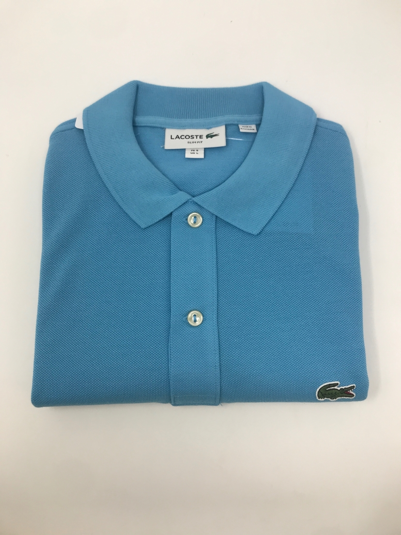 lacoste Classic Fit Polo in Light Blue Tops