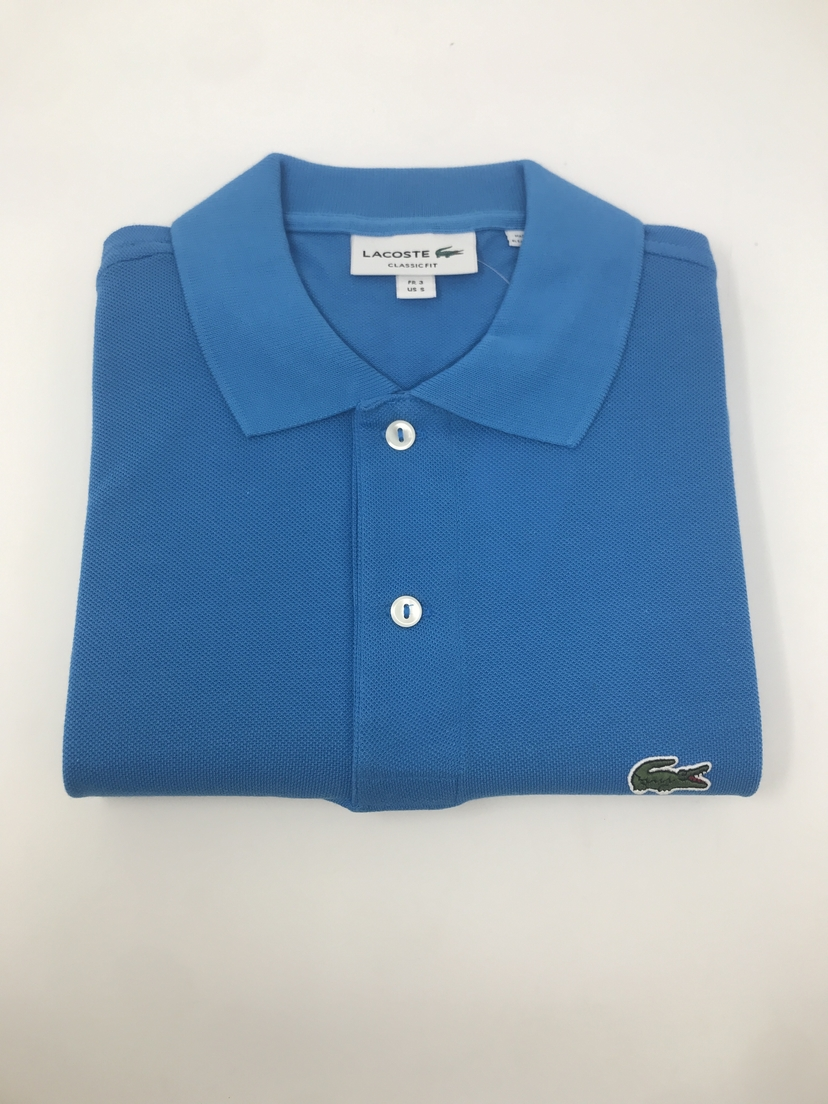 Lacoste Classic Fit Polo in Blue Tops