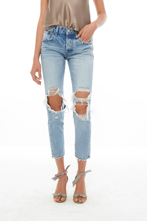 Moussy May Tapered Jean (Was $360) Sale