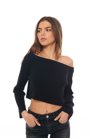 Sablyn Black Maja Sweater Tops
