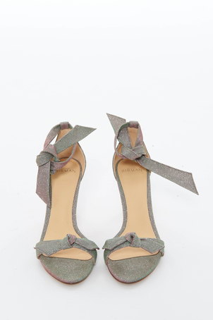 Alexandre Birman Lurex Clarita Sandal Shoes