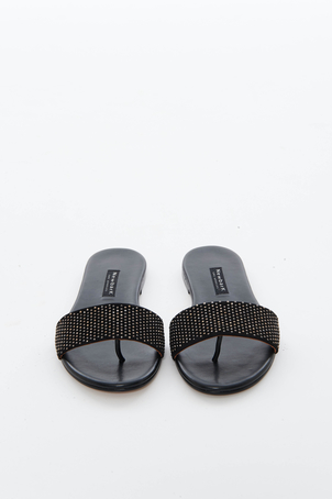 Newbark Black Roma I Sandal Shoes