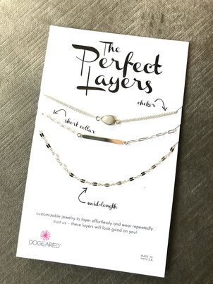 Dogeared Perfect Layers Necklace Set Jewelry