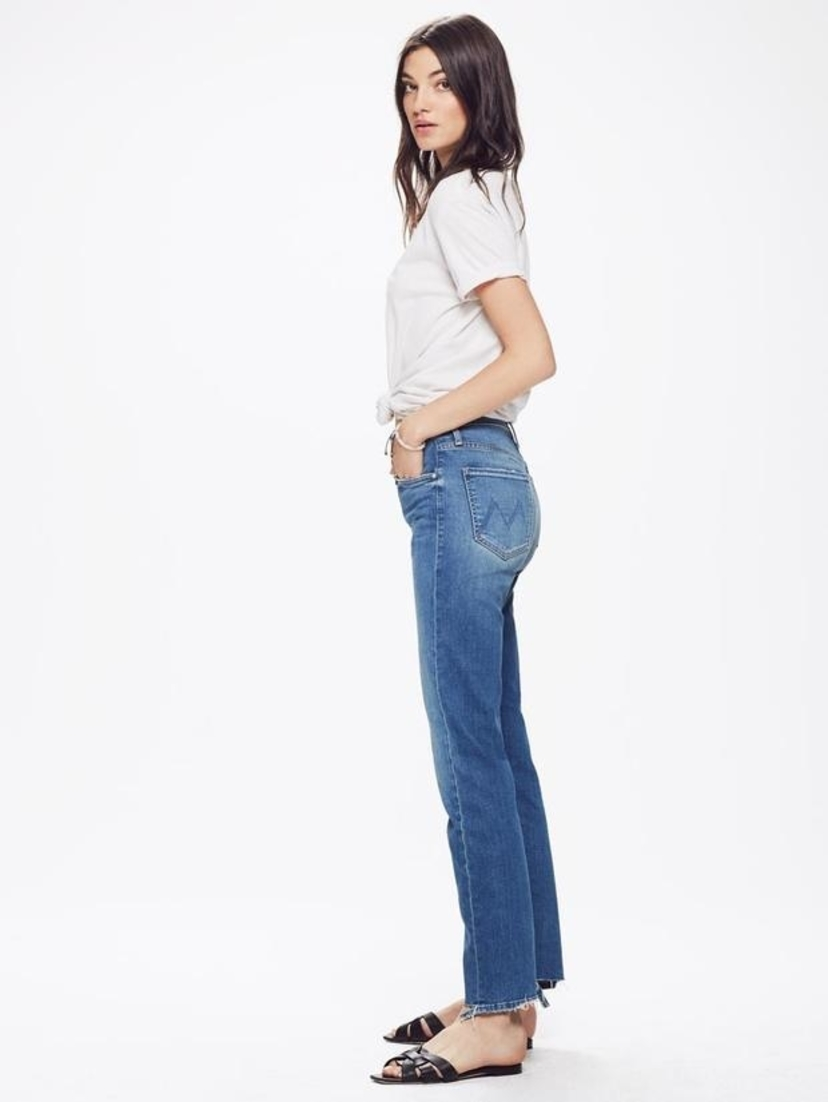 Mother The Tomcat Ankle - Tequila Mockingbird Blue Pants