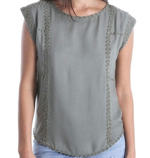 Nenna Embellished Top Tops