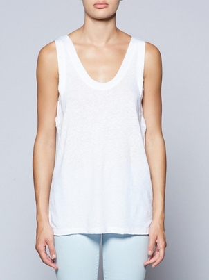 Brochu Walker Ocean Tank - White Tops