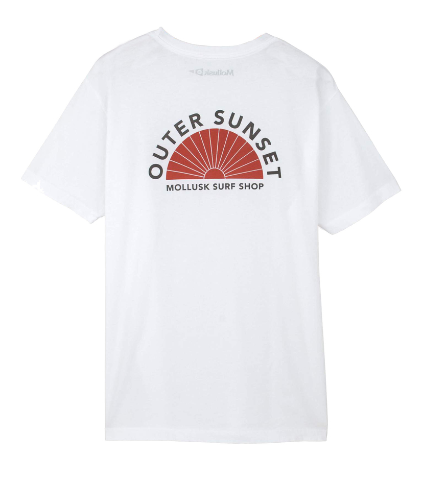 Mollusk OUTER SUNSET TEE Men's