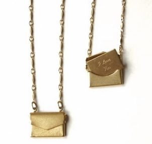ExVoto Messenger Necklace Jewerly