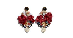 Lizzie Fortunato Gardenia Earrings Jewelry