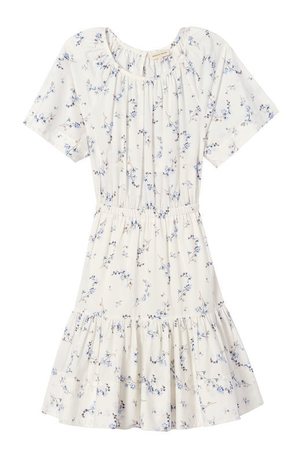 Rebecca Taylor Francine Dress in Snow Comb Dresses