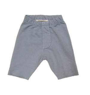 GO GENTLY NATION TROUSER SHORT - CREAMY SILVER SOLID