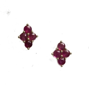 Meredith Marks Meredith Marks 'Asher' Ruby post earrings Jewelry