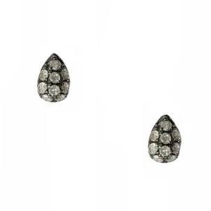 Meredith Marks Meredith Marks Diamond & Silver earrings Jewelry