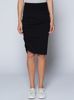 Brochu Walker Sonora Skirt - Black Onyx Skirts
