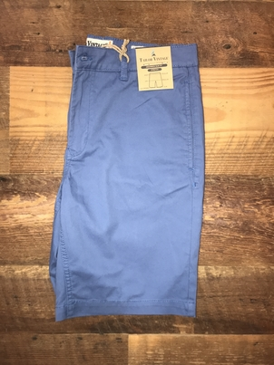 "Tailor Vintage 9"" Stretch Twill Walking Short in Blue"