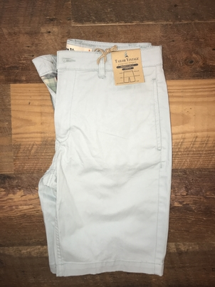 "Tailor Vintage 9"" Stretch Twill Walking Short in Sterling Blue"