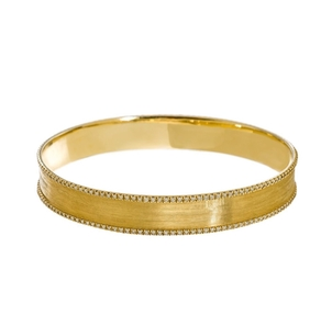 Meredith Marks Meredith Marks gold & diamond bangle Jewelry