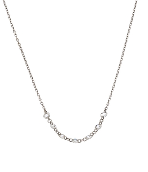 Meredith Marks Sliced diamond necklace Jewelry