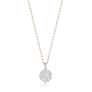 Walters Faith Chantecaille Small 18K White Diamond Pebble Jewelry