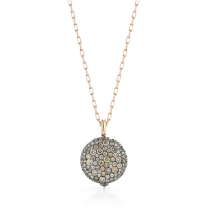 Walters Faith Chantecaille Large 18K Champagne Diamond Pebble Jewelry