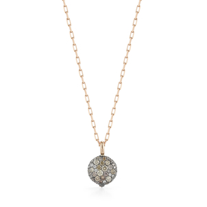 Walters Faith Chantecaille Small 18K Champagne Diamond Pebble Jewelry