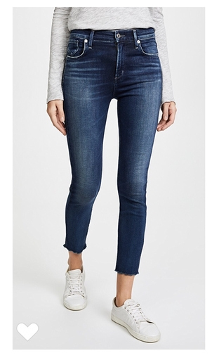AGOLDE AGOLDE cropped 'Sophie' jean Pants