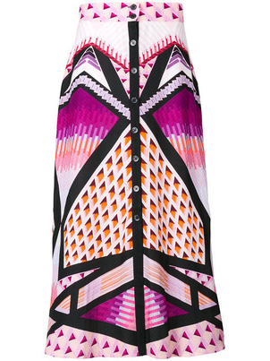 Temperley London Printed Skirt Skirts