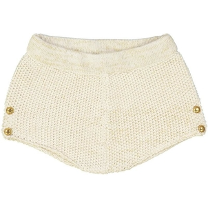 Louis Louise Knitted Gold Lurex Cotton Short