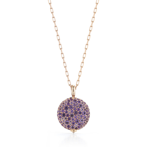 Walters Faith Chantecaille Large 18K Amethyst Pebble Jewelry