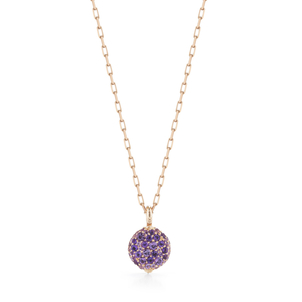 Walters Faith Chantecaille Small 18K Amethyst Pebble Jewelry