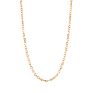 "Walters Faith 18K Rose Gold 18"" Chain Jewelry"