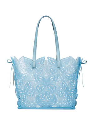 Sophia Webster Butterfly Jelly Tote in Blue Bags
