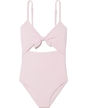 Mara Hoffman Kia One Piece in Pink Swimwear