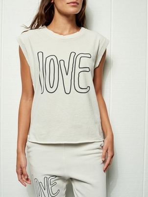Frank & Eileen VINTAGE MUSCLE TEE WITH LOVE Tops
