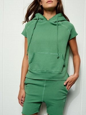 Frank & Eileen FRANK AND EILEEN SLEEVELESS PULLOVER HOODIE ENVIED Tops
