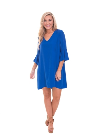 LaRoque Park Dress - Cobalt Dresses