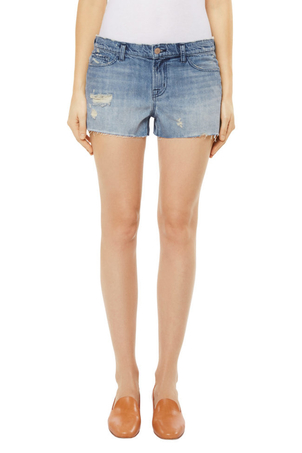 J Brand Low-Rise Short Shorts