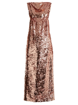 Emilia Wickstead Cyrus Sequin Dress Dresses