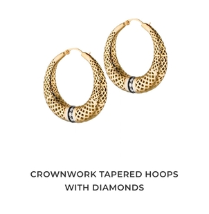 Ray Griffiths Crownwork hoops Jewelry