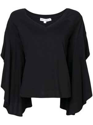 Robert Rodriguez Ruffle Sleeve Top Tops