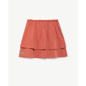 The Animals Observatory SEAMSTRESS KIDS SKIRT - TAO RED