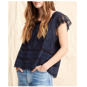 The Frill Top Tops