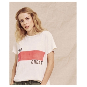 The Great. The Boxy Crew Banner Graphic Tops