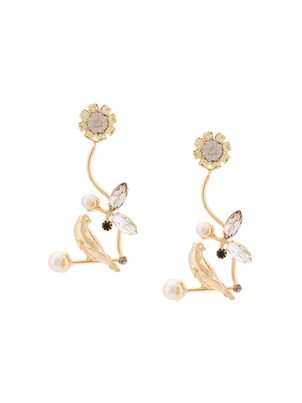 Erdem Bird Filigree Earrings Jewelry