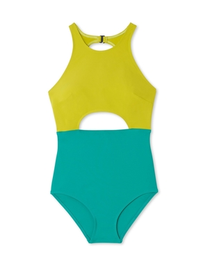 Flagpole FLAGPOLE VERA SUIT KEY LIME AND SEA GREEN Swimwear