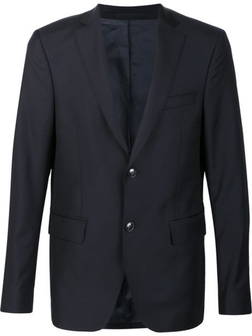 Officine Générale FLANNEL JACKET WITH FLAP POCKET Men's