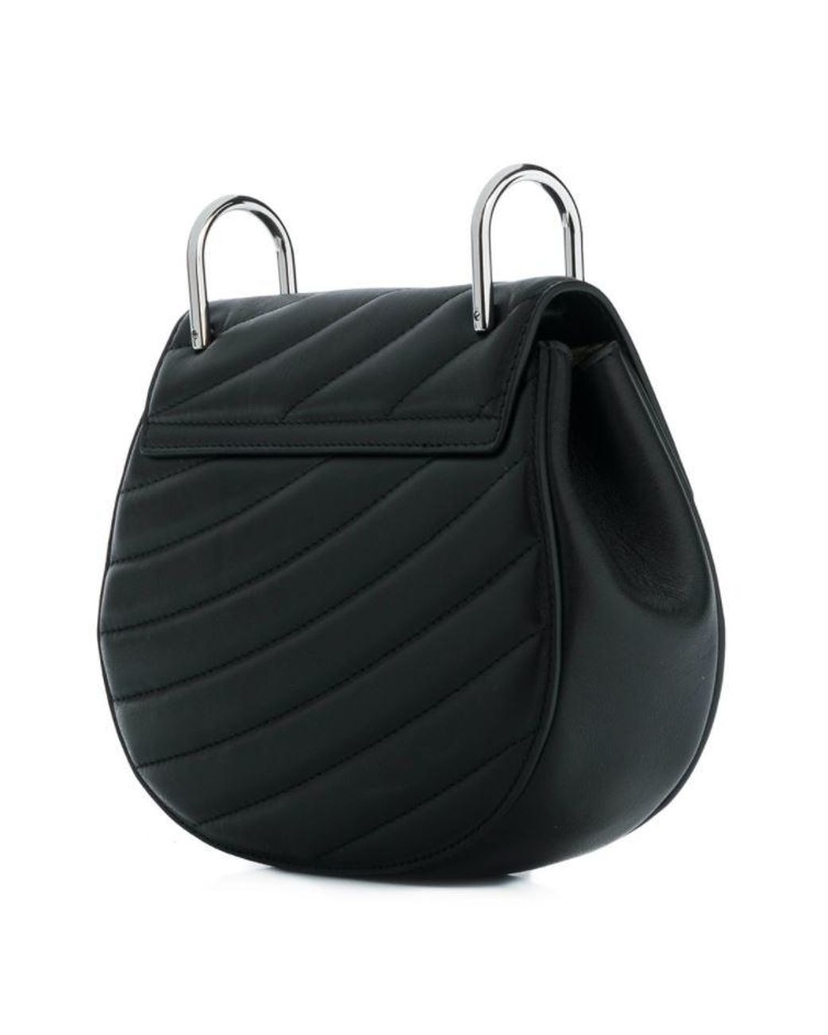 Chloé Drew Bag with Large Chain - Black Bags