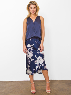 Go Silk Bias Skirt - Flower Child Pants