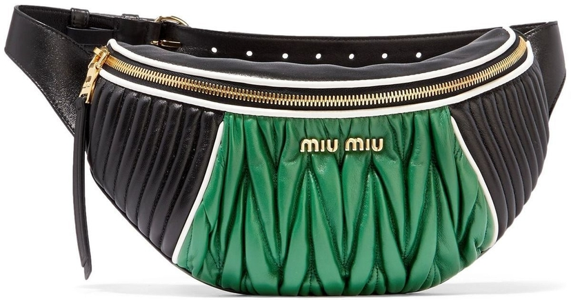 Miu Miu Miu Miu Rider Green Belt Bag Bags