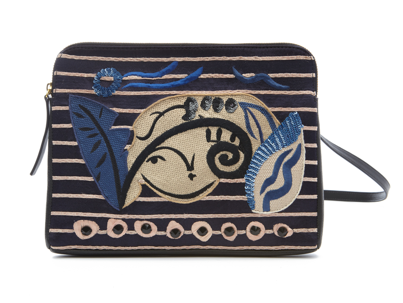 Lizzie Fortunato Exclusive Embroidered Crossbody Bags